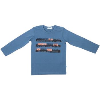 Textil Criança T-shirt mangas compridas Melby 70C5524 Azul