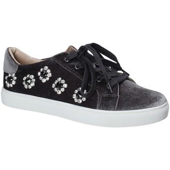 Sapatos Mulher Sapatilhas Fornarina PE17TR1112 Cinzento