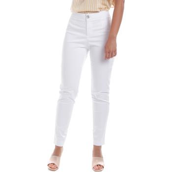 Textil Mulher Chinos NeroGiardini E060100D Branco