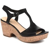Sapatos Mulher Sandálias Clarks 26142156 Preto