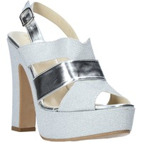Sapatos Mulher Sandálias Esther Collezioni ELE 084 Prata