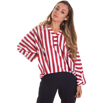 Textil Mulher Tops / Blusas Liu Jo FA0292 T4169 Vermelho