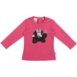 Textil Criança T-shirt mangas compridas Melby 20C2101DN Rosa