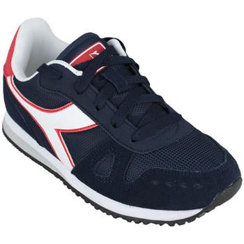Sapatos Criança Sapatilhas de corrida Diadora simple run gs c1512 Azul