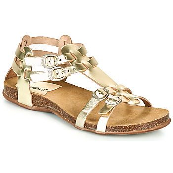 Sapatos Mulher Sandálias Kickers ANA Ouro