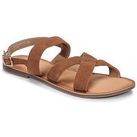 Sapatos Mulher Sandálias Kickers DIBA-2 Camel