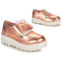 Sapatos Mulher Sapatos Kickers KICKOUCLASS Rosa / Matal