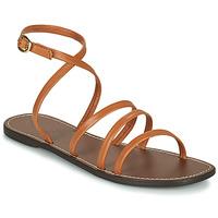 Sapatos Mulher Sandálias Kickers KICKNICE Camel