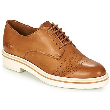 Sapatos Mulher Sapatos Kickers OXFORK Camel