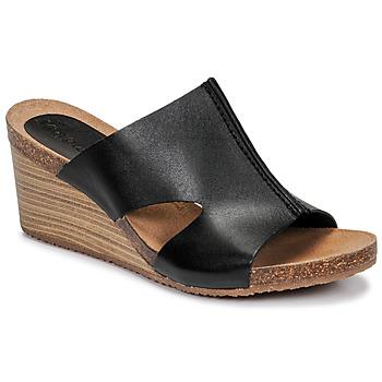 Sapatos Mulher Chinelos Kickers SPAINTA Preto