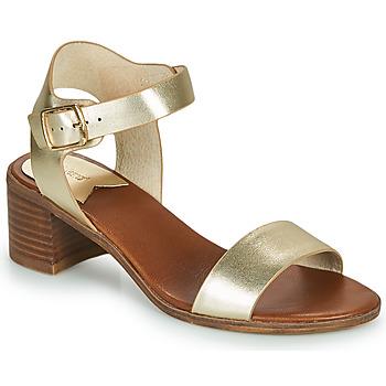 Sapatos Mulher Sandálias Kickers VOLOU Dourado