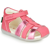 Sapatos Rapariga Sandálias Kickers BIGFLO-2 Rosa