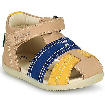 Sapatos Rapaz Sandálias Kickers BIGBAZAR-2 Marinho