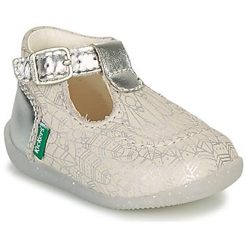 Sapatos Rapariga Sabrinas Kickers BONBEK-2 Prata