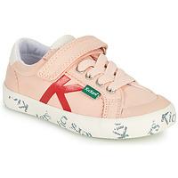Sapatos Rapariga Sapatilhas Kickers GODY Rosa