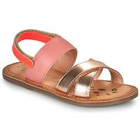 Sapatos Rapariga Sandálias Kickers DYACROSS Rosa