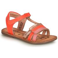 Sapatos Rapariga Sandálias Kickers DIAMANTO Rosa
