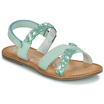 Sapatos Rapariga Sandálias Kickers DIMDAMI Azul
