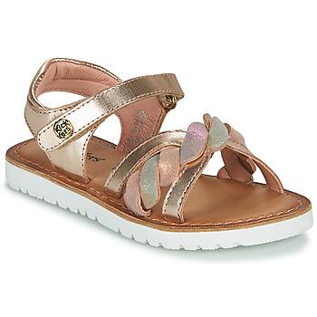 Sapatos Rapariga Sandálias Kickers BETTYL Rosa