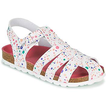 Sapatos Rapariga Sandálias Kickers SUMMERTAN Rosa