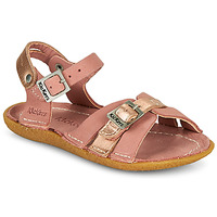 Sapatos Rapariga Sandálias Kickers PEPETE Rosa