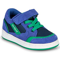 Sapatos Rapaz Sapatilhas Kickers BISCKUIT Azul