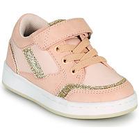 Sapatos Rapariga Sapatilhas Kickers BISCKUIT Rosa