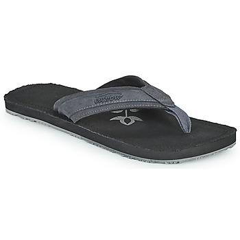 Sapatos Homem Chinelos Oxbow VALLY Preto