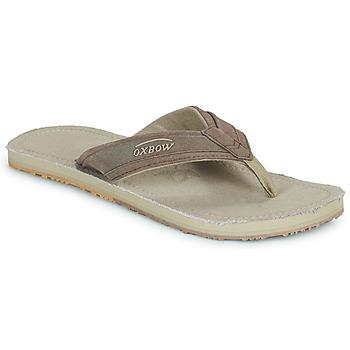 Sapatos Homem Chinelos Oxbow VALLY Bege