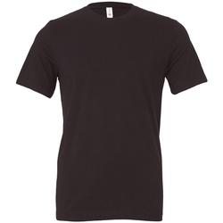 Textil T-Shirt mangas curtas Bella + Canvas CV3001 Cinza Escuro Sólido