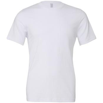 Textil T-Shirt mangas curtas Bella + Canvas CV3001 Branco