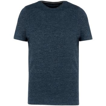 Textil Homem T-Shirt mangas curtas Kariban Vintage KV2106 Noite Blue Heather