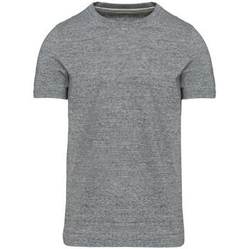 Textil Homem T-Shirt mangas curtas Kariban Vintage KV2106 Slub Grey Heather