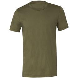 Textil T-Shirt mangas curtas Bella + Canvas CV3001 Verde Militar