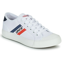 Sapatos Rapaz Sapatilhas Levi's MISSION Branco