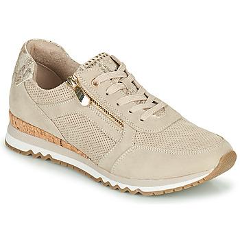 Sapatos Mulher Sapatilhas Marco Tozzi DORIANE Bege