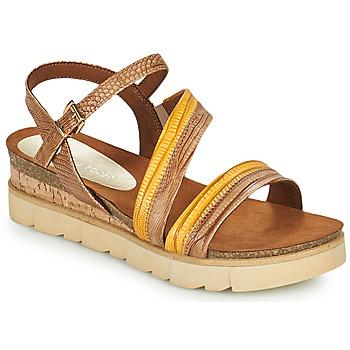 Sapatos Mulher Sandálias Marco Tozzi LIZZA Conhaque
