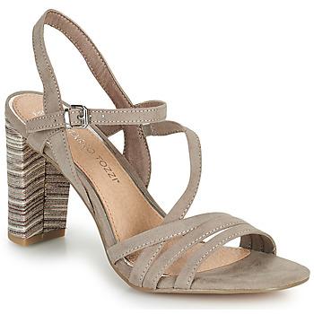 Sapatos Mulher Sandálias Marco Tozzi BALEINA Bege