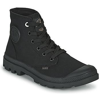 Sapatos Botas baixas Palladium MONO CHROME Preto