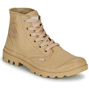 Sapatos Botas baixas Palladium MONO CHROME Bege