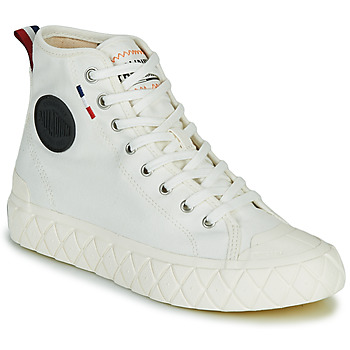 Sapatos Sapatilhas de cano-alto Palladium PALLA ACE CVS MID Branco