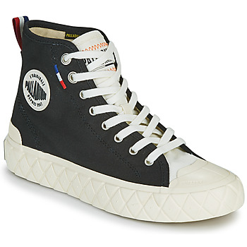 Sapatos Sapatilhas de cano-alto Palladium PALLA ACE CVS MID Preto / Branco