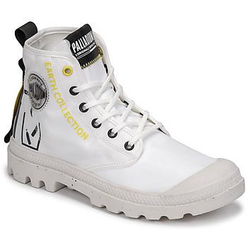 Sapatos Botas baixas Palladium PAMPA RCYCL METRO Branco