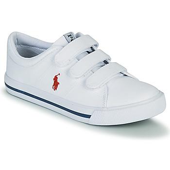 Sapatos Criança Sapatilhas Polo Ralph Lauren ELMWOOD EZ Branco