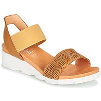 Sapatos Mulher Sandálias Felmini DARA Castanho / Bege