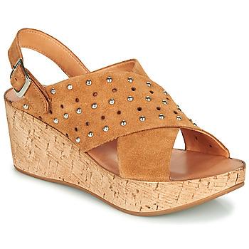 Sapatos Mulher Sandálias Felmini MONACO Castanho
