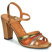 Sapatos Mulher Sandálias Chie Mihara ADIEL Verde / Bronze