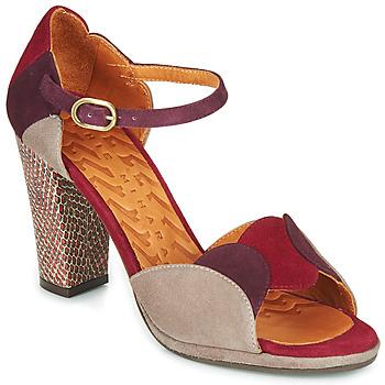 Sapatos Mulher Sandálias Chie Mihara ADAIR Bordô / Bege