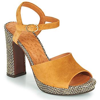 Sapatos Mulher Sandálias Chie Mihara CASSETTE Castanho