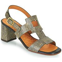 Sapatos Mulher Sandálias Chie Mihara LUSCA Preto / Bege
